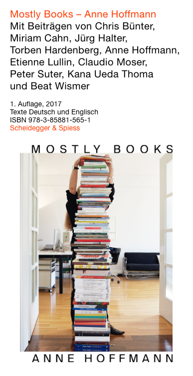 Anne Hoffmann: Mostly Books, ISBN 978-3-85881-565-1
